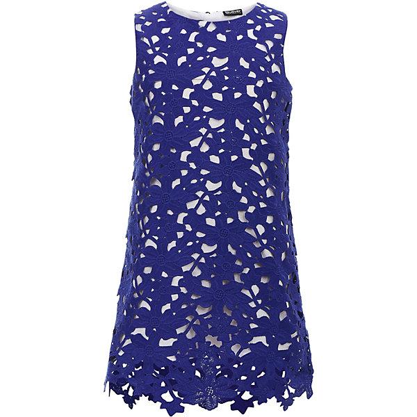 Платье Gulliver для девочкиНарядные платья<br>Характеристики товара:<br><br>• цвет: синий;<br>• состав ткани: 100% полиэстер;<br>• подкладка: 100% хлопок;<br>• застёжка: молния на спинке;<br>• платье без рукавов;<br>• длина: миди;<br>• кружевное платье;<br>• нарядное платье;<br>• трапециевидный силуэт;<br>• коллекция: Ницца;<br>• страна бренда: Россия.<br><br>Синее кружевное платье из коллекции Ницца - олицетворение благородства и изящества. Лаконичная форма, легкий трапециевидный силуэт... Элегантная простота - главный принцип в формировании изысканного образа. Это платье отлично впишется в летний гардероб барышни, не нарушив ее комфорта. <br><br>Платье Gulliver (Гулливер) можно купить в нашем интернет-магазине.<br>Ширина мм: 236; Глубина мм: 16; Высота мм: 184; Вес г: 177; Цвет: белый; Возраст от месяцев: 72; Возраст до месяцев: 84; Пол: Женский; Возраст: Детский; Размер: 122,140,134,128; SKU: 7790423;