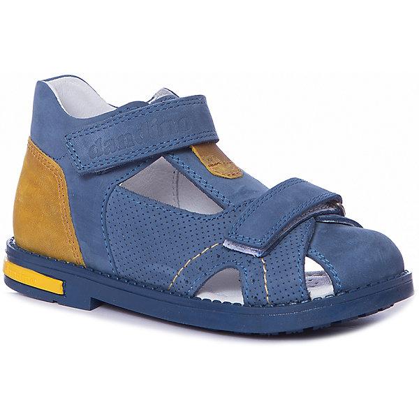 Dandino Сандалии Dandino для мальчика сандалии для мальчика bottilini цвет синий голубой so 096 8 размер 21 22 5