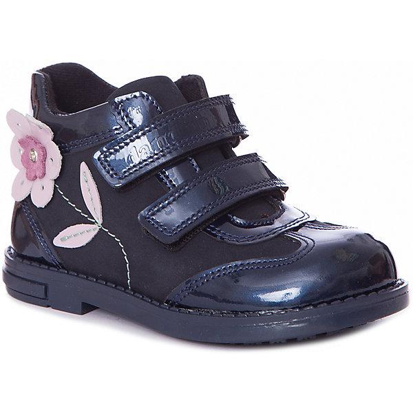 Dandino Ботинки Dandino для девочки ботинки для девочки капитошка цвет коричневый g10386 размер 34