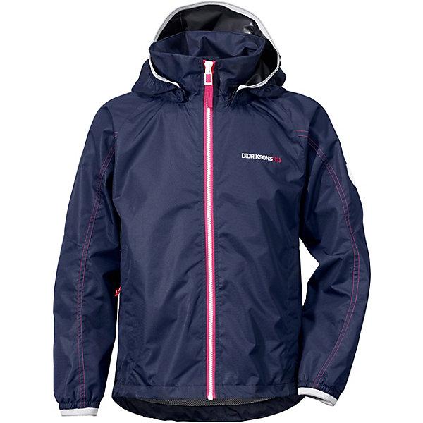 Купить Куртка VIVID DIDRIKSONS1913 для девочки, Бангладеш, синий, 130, 140, Женский