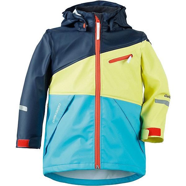 Непромокаемый плащ GULL DIDRIKSONS1913Верхняя одежда<br>Характеристики товара:<br><br>• цвет: синий, желтый, голубой;<br>• внешняя ткань: Galon 100% полиуретан; <br>• подкладка: трикотаж 100% полиэстер;<br>• водонепроницаемость: 8000 мм.<br>• воздухонепроницаемость: 5000 г/м2/24ч <br>• температурный режим: от +10 до +20 С;<br>• сезон: демисезон;<br>• модель: плащ;<br>• регулируемый подол;<br>• защита подбородка;<br>• капюшон отстёгивается;<br>• эластичный материал;<br>• скрытый шов (увеличивается длина рукава);<br>• светоотражатели;<br>• страна бренда: Швеция.<br><br>Детский плащ «GULL» шведской марки Didriksons 1913 рассчитана на температурный режим от +10 градусов. Выполнена из непромокаемого и не продуваемого запатентованного материала Galon (полиуретан), который тянется во всех направлениях и не сковывает движения ребенка. Модель свободного кроя, выполнена в яркой комбинации цветов,  дополнена карманами и светоотражающими элементами. <br><br>Все швы проклеены, внешняя поверхность ткани обработана дополнительной водоотталкивающей пропиткой, что обеспечивает максимальную защиту от внешней влаги. В таком плаще ребенок может находится под дождем, не боясь промокнуть! <br><br>DIDRIKSONS 1913 (Швеция) - ведущий европейский производитель функциональной одежды для города, туризма, активного отдыха на природе и спорта. Непромокаемая одежда Didriksons очень проста в уходе. Загрязнения легко удаляются влажной губкой или под струей воды. <br><br>Детский плащ «GULL» от бренда DIDRIKSONS1913 (Дидриксон1913) можно купить в нашем интернет-магазине.<br>Ширина мм: 356; Глубина мм: 10; Высота мм: 245; Вес г: 519; Цвет: синий; Возраст от месяцев: 72; Возраст до месяцев: 84; Пол: Унисекс; Возраст: Детский; Размер: 120,110,100,90,140,130; SKU: 7797664;