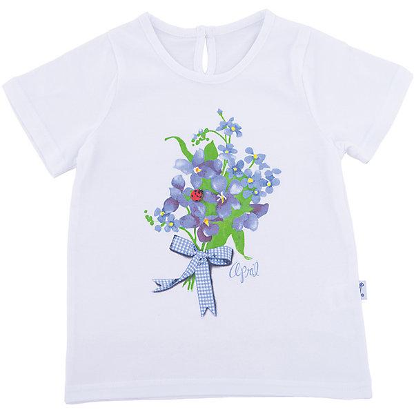 Фото - Апрель Футболка Апрель для девочки футболки и топы апрель футболка летчик пдк546002