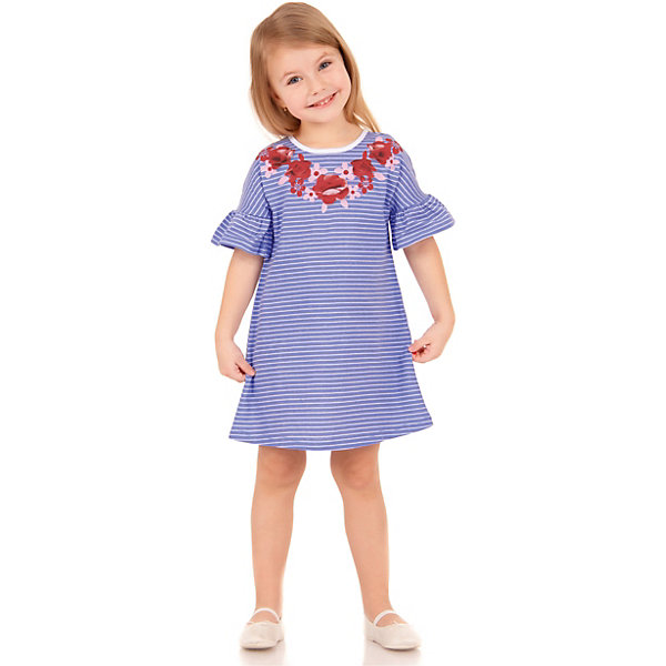 Платье АпрельПлатья и сарафаны<br>Характеристики товара:<br><br>• цвет: голубой<br>• состав ткани: 100% хлопок<br>• сезон: лето<br>• короткие рукава<br>• страна бренда: Россия<br><br><br>Такое платье для ребенка от популярного бренда Апрель имеет длину до колена. Материал этого детского платья - чистый натуральный хлопок, который позволит создать комфортные условия для тела. Такое платье для детей смотрится симпатично и модно.<br><br>Платье Апрель можно купить в нашем интернет-магазине.<br>Ширина мм: 236; Глубина мм: 16; Высота мм: 184; Вес г: 177; Цвет: разноцветный; Возраст от месяцев: 12; Возраст до месяцев: 18; Пол: Унисекс; Возраст: Детский; Размер: 86,116,110,104,98,92; SKU: 7799440;