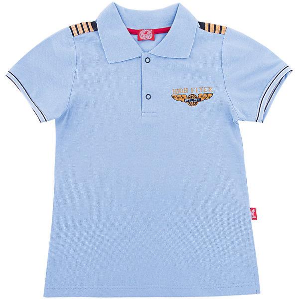 Джемпер АпрельФутболки, поло и топы<br>Характеристики товара:<br><br>• цвет: голубой<br>• состав ткани: 100% хлопок<br>• сезон: лето<br>• кнопки<br>• короткие рукава<br>• страна бренда: Россия<br><br>Хлопковая футболка-поло для детей от известного бренда Апрель может стать удобной базовой вещью для гардероба. Мягкая футболка для ребенка украшена стильным декором. Эта детская футболка сделана из качественного дышащего материала, безопасного для детей.<br><br>Футболку Апрель можно купить в нашем интернет-магазине.<br>Ширина мм: 190; Глубина мм: 74; Высота мм: 229; Вес г: 236; Цвет: голубой; Возраст от месяцев: 36; Возраст до месяцев: 48; Пол: Унисекс; Возраст: Детский; Размер: 104,86,116,110,98,92; SKU: 7799503;