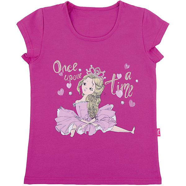 Джемпер АпрельФутболки, поло и топы<br>Характеристики товара:<br><br>• цвет: розовый<br>• состав ткани: 100% хлопок<br>• сезон: лето<br>• короткие рукава<br>• с рисунком<br>• страна бренда: Россия<br><br>Хлопковая футболка для ребенка от известного бренда Апрель украшена стильным принтом. Она может стать удобной и модной вещью для летнего гардероба. <br><br>Футболку Апрель можно купить в нашем интернет-магазине.<br>Ширина мм: 190; Глубина мм: 74; Высота мм: 229; Вес г: 236; Цвет: розовый; Возраст от месяцев: 48; Возраст до месяцев: 60; Пол: Унисекс; Возраст: Детский; Размер: 110,86,116,104,98,92; SKU: 7799768;