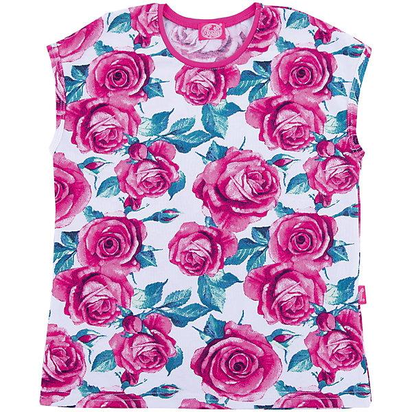 Джемпер АпрельФутболки, поло и топы<br>Характеристики товара:<br><br>• цвет: розовый<br>• состав ткани: 92% хлопок, 8% лайкра<br>• сезон: лето<br>• без рукавов<br>• с принтом<br>• страна бренда: Россия<br><br>Стильная блузка для ребенка от известного бренда Апрель украшена ярким цветочным принтом. Хлопковая детская блузка сделана из качественного дышащего материала, безопасного для детей. Такая блузка для детей может стать удобной и модной вещью для летнего гардероба. <br><br>Блузку Апрель можно купить в нашем интернет-магазине.<br>Ширина мм: 190; Глубина мм: 74; Высота мм: 229; Вес г: 236; Цвет: разноцветный; Возраст от месяцев: 60; Возраст до месяцев: 72; Пол: Унисекс; Возраст: Детский; Размер: 116,146,140,134,128,122; SKU: 7799880;