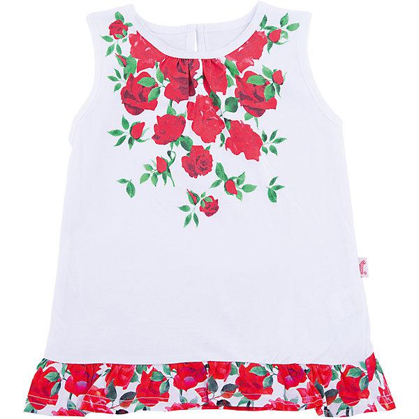 Апрель Туника Апрель для девочки апрель апрель комплект одежды туника и бриджи белый