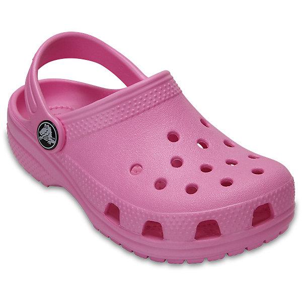 crocs Сабо CROCS для девочки сабо для девочки crocs classic clog k цвет светло розовый 204536 737 размер c7 24