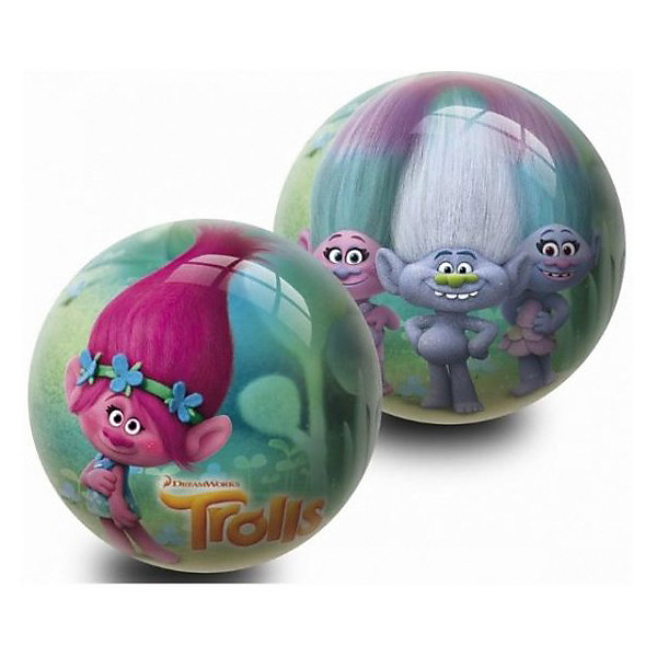 Мяч Unice Тролли , 23смМячи детские<br>Характеристики:<br><br>• тип игрушки: мяч;<br>• возраст: от 2 лет;<br>• материал: ПВХ;<br>• цвет: серый, розовый;<br>• вес: 150 гр;<br>• размер: 23х23х23 см;<br>• бренд: Unice.<br><br>Мяч Unice «Тролли», для девочек 23 см удобен для самых маленьких ребят своим небольшим диаметром, гладкостью, отличной прыгучестью и яркостью. Он станет отличным решением для игр как на открытом воздухе, так и в просторном помещении. Мячик изготавливается из сертифицированных качественных материалов.<br><br>Яркие красочные рисунки привлекут внимание самых маленьких игроков. Диаметр изделия идеален для малышей, мячик удобно держать в ладошках и пинать ножками. Мяч незаменим для веселых подвижных игр в большой компании, которые способствуют развитию глазомера, воображения, скорости реакции, ловкости.<br><br>Для изготовления мяча используется ПВХ высочайшего качества, благодаря чему он очень упругий. Изображения на изделии отличаются высокой стойкостью, они не потускнеют со временем и не сотрутся при частых играх.<br><br>Мяч Unice «Тролли», для девочек 23 см можно купить в нашем интернет-магазине.<br>Ширина мм: 23; Глубина мм: 23; Высота мм: 23; Вес г: 150; Возраст от месяцев: 24; Возраст до месяцев: 60; Пол: Унисекс; Возраст: Детский; SKU: 7905764;