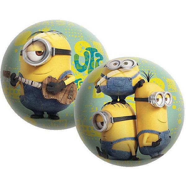 Мяч Unice Миньоны , 15 смМиньоны<br>Характеристики:<br><br>• тип игрушки: мяч;<br>• возраст: от 2 лет;<br>• материал: ПВХ;<br>• цвет: желтый;<br>• вес: 100 гр;<br>• размер: 15х15х15 см;<br>• бренд: Unice.<br><br>Мяч Unice «Миньоны», 15 см удобен для самых маленьких ребят своим небольшим диаметром, гладкостью, отличной прыгучестью и яркостью. Он станет отличным решением для игр как на открытом воздухе, так и в просторном помещении. Мячик изготавливается из сертифицированных качественных материалов.<br><br>Яркие красочные рисунки привлекут внимание самых маленьких игроков. Диаметр изделия идеален для малышей, мячик удобно держать в ладошках и пинать ножками. Мяч незаменим для веселых подвижных игр в большой компании, которые способствуют развитию глазомера, воображения, скорости реакции, ловкости.<br><br>Для изготовления мяча используется ПВХ высочайшего качества, благодаря чему он очень упругий. Изображения на изделии отличаются высокой стойкостью, они не потускнеют со временем и не сотрутся при частых играх.<br><br>Мяч Unice «Миньоны», 15 см можно купить в нашем интернет-магазине.<br>Ширина мм: 15; Глубина мм: 15; Высота мм: 15; Вес г: 100; Возраст от месяцев: 24; Возраст до месяцев: 60; Пол: Унисекс; Возраст: Детский; SKU: 7905786;