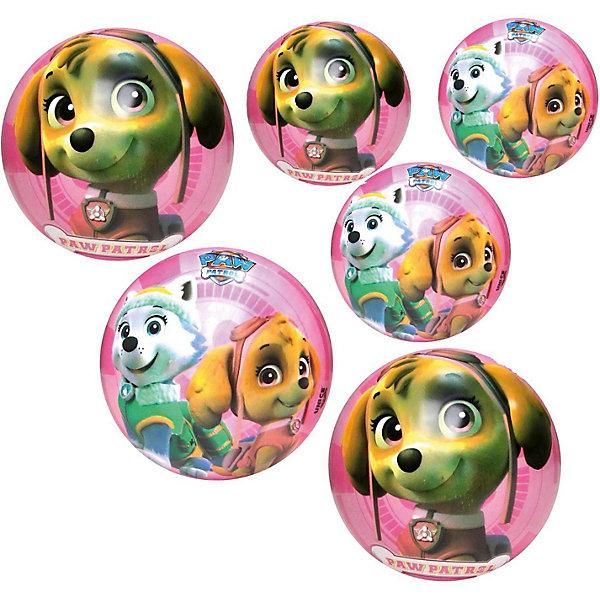 Мяч Unice Щенячий патруль для девочек , 23 смМячи детские<br>Характеристики:<br><br>• тип игрушки: мяч;<br>• возраст: от 2 лет;<br>• материал: ПВХ;<br>• цвет: голубой;<br>• вес: 150 гр;<br>• размер: 23х23х23 см;<br>• бренд: Unice.<br><br>Мяч Unice «Щенячий патруль», для девочек 23 см удобен для самых маленьких ребят своим небольшим диаметром, гладкостью, отличной прыгучестью и яркостью. Он станет отличным решением для игр как на открытом воздухе, так и в просторном помещении. Мячик изготавливается из сертифицированных качественных материалов.<br><br>Яркие красочные рисунки привлекут внимание самых маленьких игроков. Диаметр изделия идеален для малышей, мячик удобно держать в ладошках и пинать ножками. Мяч незаменим для веселых подвижных игр в большой компании, которые способствуют развитию глазомера, воображения, скорости реакции, ловкости.<br><br>Для изготовления мяча используется ПВХ высочайшего качества, благодаря чему он очень упругий. Изображения на изделии отличаются высокой стойкостью, они не потускнеют со временем и не сотрутся при частых играх.<br><br>Мяч Unice «Щенячий патруль», для девочек 23 см можно купить в нашем интернет-магазине.<br>Ширина мм: 23; Глубина мм: 23; Высота мм: 23; Вес г: 150; Возраст от месяцев: 24; Возраст до месяцев: 60; Пол: Унисекс; Возраст: Детский; SKU: 7905796;