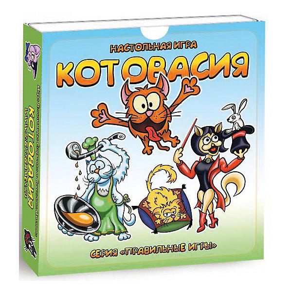 Настольная игра Правильные игры 37-01-01 Котовасия