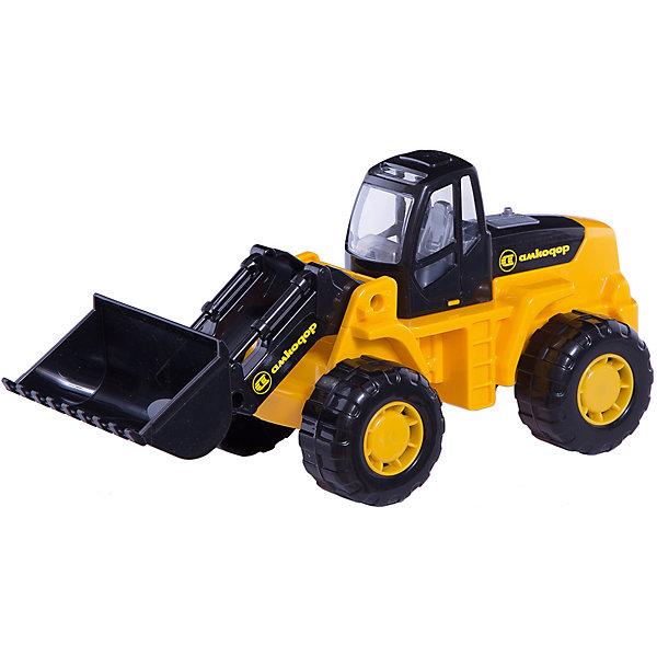 Polesie Трактор-погрузчик Полесье Умелец, трактор полесье трактор погрузчик умелец оранжевый 159238