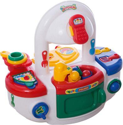 Фото - Полесье Игровой набор Полесье Кухня, с желтой варочной панелью, в пакете полесье набор игрушек для песочницы 468 цвет в ассортименте