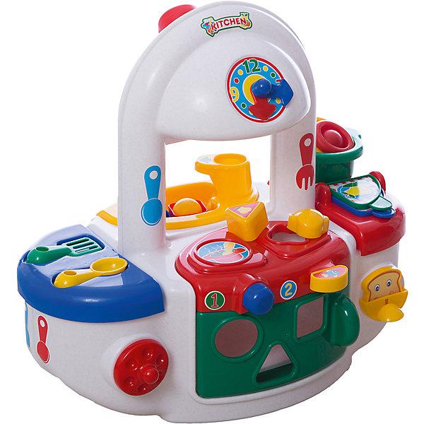 Polesie Игровой набор Полесье Кухня, с красной варочной панелью, в пакете игровой магазин набор игровой для магазина полесье мини супермаркет в пакете 53404