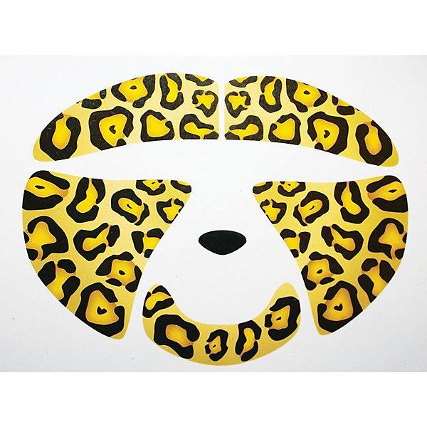 цены Partymania Украшение-стикер для лица «Леопард» 1 шт, Partymania