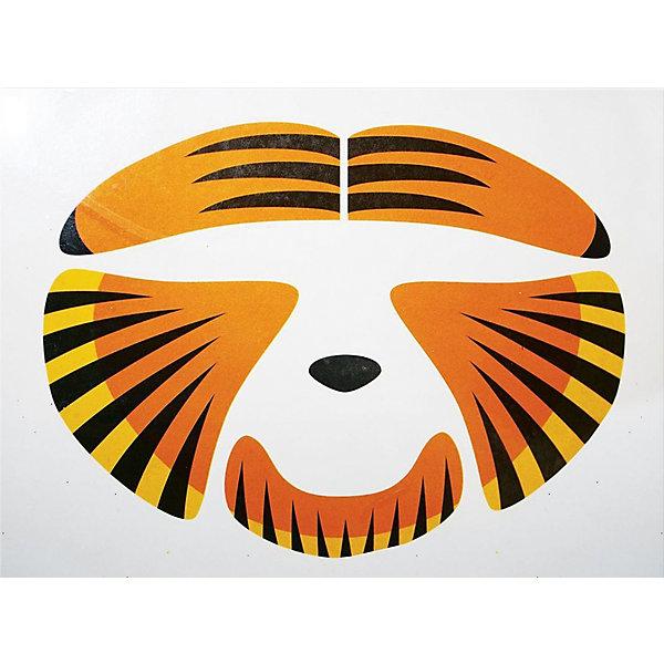 Partymania Стикер для лица Partymania Тигр маска морда partymania дизайн 1 t1235 1