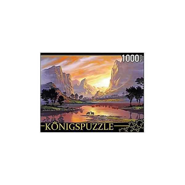 Konigspuzzle Пазл Konigspuzzle Закат среди скал 1000 элементов