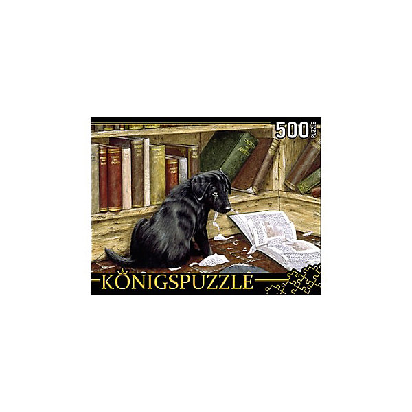 Фото - Konigspuzzle Пазл Konigspuzzle Щенок лабрадора 500 элементов konigspuzzle пазл masterpuzzle осенний нью йорк 500 элементов