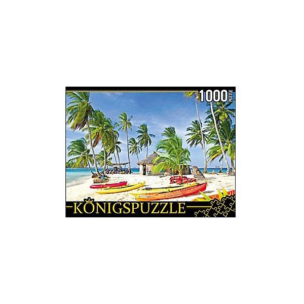 Купить Пазл Konigspuzzle Лодки на острове 1000 элементов, Россия, Унисекс