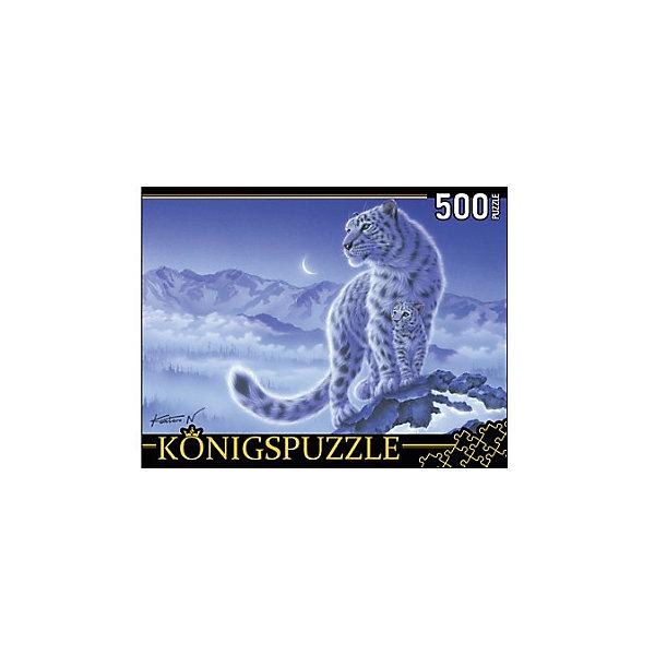 Konigspuzzle Пазл Konigspuzzle Снежные барсы 500 элементов konigspuzzle пазл konigspuzzle озеро на закате 500 элементов