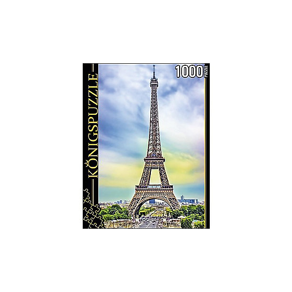 Konigspuzzle Пазл Konigspuzzle Сердце Парижа 1000 элементов пазл konigspuzzle 1000 эл 68 5 48 5см цветы на кофейном столике алк1000 6507