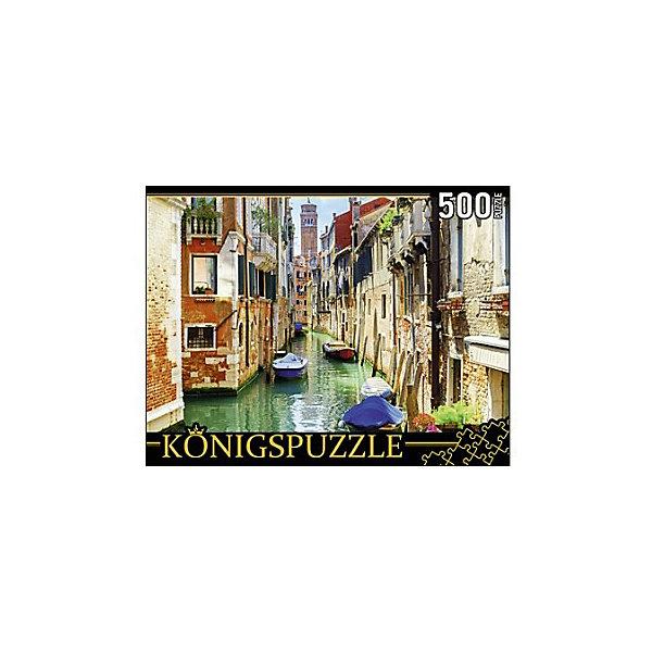 Konigspuzzle Пазл Konigspuzzle Венеция. Колокольня Сан-Кассиано 500 элементов konigspuzzle пазл konigspuzzle озеро на закате 500 элементов