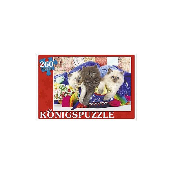 Konigspuzzle Пазл Konigspuzzle Три котёнка 260 элементов