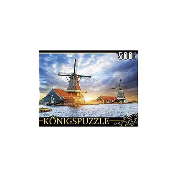 Фото - Konigspuzzle Пазл Konigspuzzle Нидерланды. Музей Мельниц 500 элементов konigspuzzle пазл masterpuzzle осенний нью йорк 500 элементов