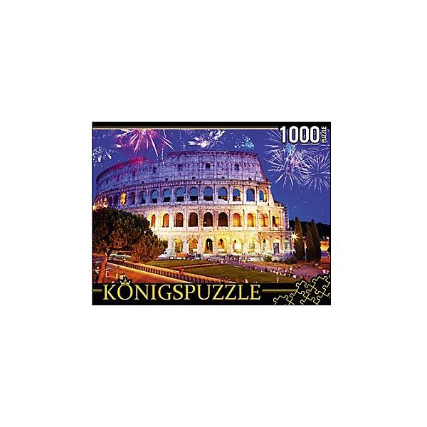 Konigspuzzle Пазл Konigspuzzle Италия. Ночной Колизей 1000 элементов