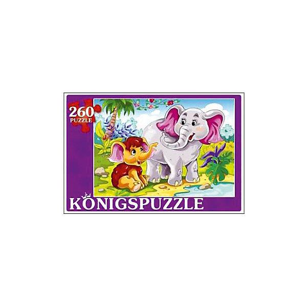 Konigspuzzle Пазл Konigspuzzle Мамонтенок 260 элементов мамонтенок