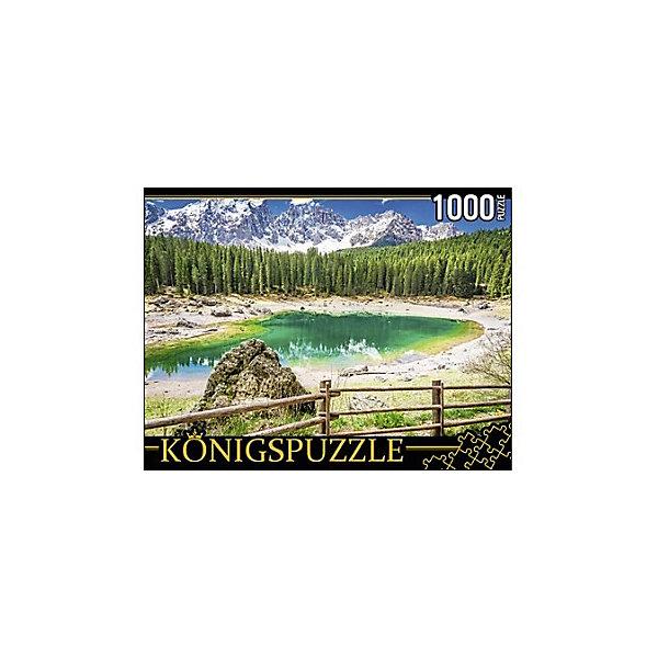 Konigspuzzle Пазл Италия. Озеро Радуги 1000 элементов
