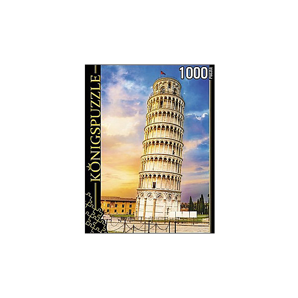 цена на Konigspuzzle Пазл Konigspuzzle Италия. Пизанская Башня 1000 элементов