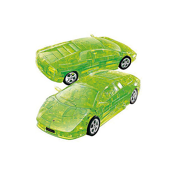 Happy Well 3D пазл Happy Well Ламборджини, зеленый 3d пазл expetro голова снежного барана blue 10634
