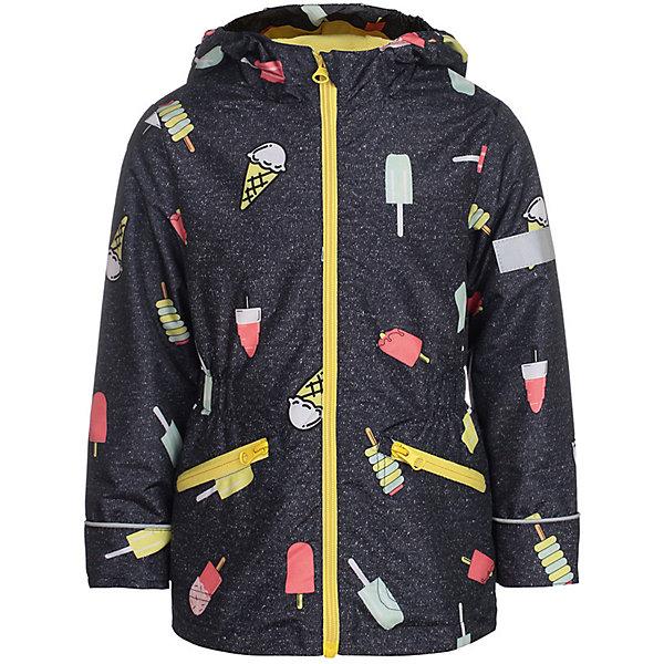 Куртка Леди JICCO BY OLDOS для девочкиВерхняя одежда<br>Характеристики товара:<br><br>• цвет: темно-серый;<br>• внешняя ткань: 100% полиэстер, покрытие TEFLON; <br>• подкладка: флис, 100% полиэстер;<br>• сезон: демисезон;<br>• температурный режим: от +10 до +20;<br>• застежка: на молнии;<br>• съемный капюшон, внутренняя резинка по краям для лучшего прилегания<br>• внутренняя ветрозащитная планка с защитой подбородка от прищемления;<br>• резинка сзади по талии <br>• манжеты прымые;<br>• 2 боковых кармана;<br>• нашивка-потеряшка;<br>• светоотражающие элементы;<br>• страна бренда: Россия.<br><br>Легкая куртка-ветровка «Леди» для девочки  от Росийсского производителя JICCO BY OLDOS- отличный вариант для активных прогулок.  Оригинальный принт, яркая комбинации цветов, контрастная молния - обязательно понравятся вашей юной моднице и не останется  незамечанной окружающими. Стильная куртка хорошо сидит по фигуре и сочетается с различной одеждой и обувью.<br><br>Внешняя ткань с водо-грязеотталкивающей пропиткой защищает от ветра и дождя. Подкладка флис, в рукавах - ворсовое полотно гладкой стороной к телу. Капюшон с внутренней резинкой по краям для лучшего прилегания; в манжеты прямые; есть карманы и регулируемая утяжка по низу куртки. Снабжена светоотражающими элементами. <br><br>Куртку-ветровку для девочки «Леди» от бренда JICCO BY OLDOS (Жико бай Олдос) можно купить в нашем интернет-магазине.<br>Ширина мм: 356; Глубина мм: 10; Высота мм: 245; Вес г: 519; Цвет: темно-серый; Возраст от месяцев: 18; Возраст до месяцев: 24; Пол: Женский; Возраст: Детский; Размер: 92,128,122,116,110,104,98; SKU: 7913198;