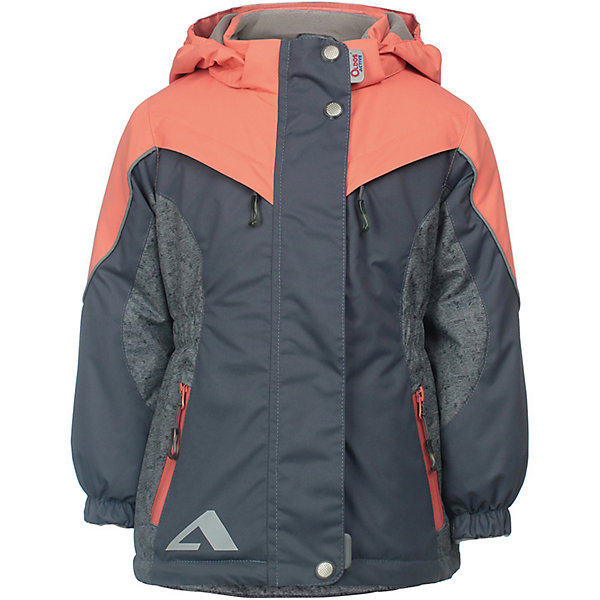 Куртка Одри OLDOS ACTIVE для девочкиВерхняя одежда<br>Характеристики товара:<br><br>• цвет: коралловый;<br>• внешняя ткань: 100% полиэстер, покрытие TEFLON, мембрана; <br>• подкладка: флис, 100% полиэстер;<br>• сезон: демисезон;<br>• температурный режим: от +10 до +20;<br>• водонепроницаемость: 3000 мм ;<br>• паропроницаемость: 3000 г/м2/24ч;<br>• застежка: на молнии;<br>• двойная ветрозащитная планка по всей длине молнии с защитой подбородка<br>• съемный капюшон, внутренняя резинка по краям для лучшего прилегания<br>• воротник-стойка с мягкой флисовой подкладкой<br>• резинка сзади по талии <br>• манжеты на резинке регулируемые липучкой<br>• 2 накладных кармана на кнопках снизу и на 2 кармана молнии вверху, внутренний карман на липучке<br>• нашивка-потеряшка<br>• светоотражающие элементы<br>• страна бренда: Россия.<br><br>Утепленная куртка-парка «Одри» для девочки из мембранной коллекции Росийсского производителя OLDOS ACTIVE - отличный вариант для активных прогулок в межсезонье.  Выполнена в красивой комбинации кораллового цвета,  хорошо сидит по фигуре и сочетается с различной одеждой и обувью.<br><br>Верхняя ткань с мембраной 3000/3000 обеспечивает водонепроницаемость, при этом ветровка дышит. Покрытие TEFLON повышает износостойкость, а так же облегчает уход за ветровкой. Подкладка - флис, в области груди и спины, плотный полиэстер в рукавах. <br><br>Такая ветровка прекрасно защитит от непогоды благодаря продуманному функционалу: капюшону с внутренней резинкой по краям для лучшего прилегания, ветрозащитной планке по всей длине молнии с защитой подбородка, манжетам на резинке с клином, который регулируется липучкой и внешней регулировке по талии. Ветровка оснащена карманами на молнии и светоотражающими элементами. Внутри куртки есть потайной карман, который застегивается на липучку и нашивка-потеряшка. <br><br>Утепленную куртку-парку «Одри» для девочки от бренда OLDOS ACTIVE (Олдос Актив) можно купить в нашем интернет-магазине.<br>Ширина мм: 356; Глубина мм: 10; В