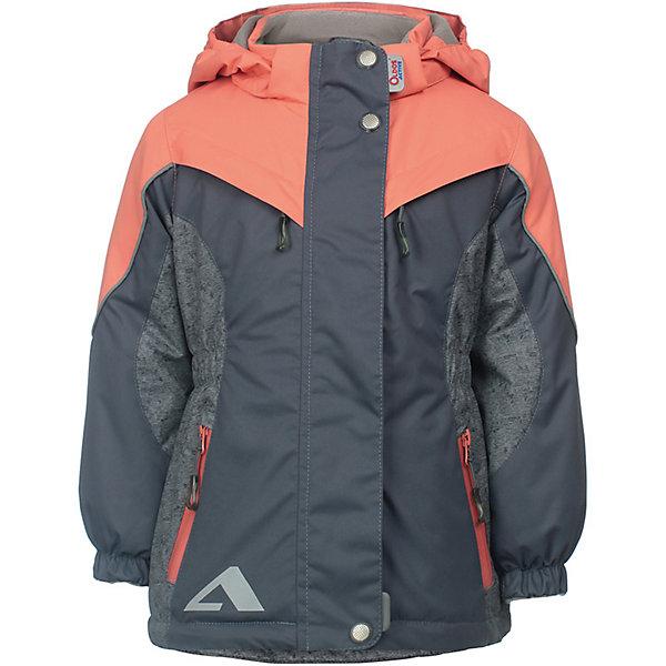 OLDOS Куртка Одри OLDOS ACTIVE для девочки куртка для девочки oldos active одри цвет коралловый темно серый 2a8jk06 размер 140 10 лет