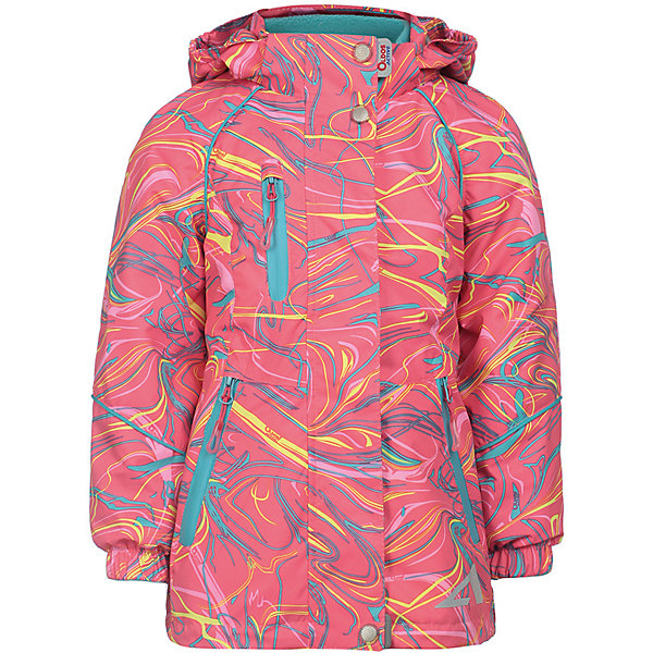 Купить Демисезонная куртка Oldos Active Иона , Россия, розовый, 86, 92, 116, 110, 104, 98, Женский