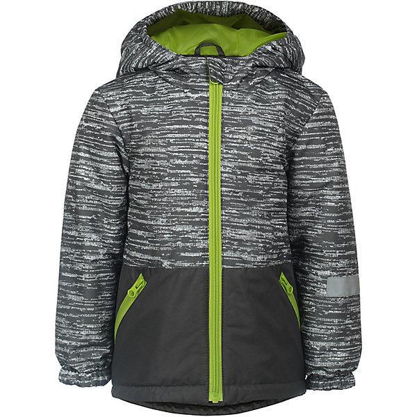 Куртка Чип JICCO BY OLDOS для мальчикаВерхняя одежда<br>Характеристики товара:<br><br>• цвет: серый;<br>• внешняя ткань: 100% полиэстер, покрытие TEFLON; <br>• подкладка: флис, 100% полиэстер;<br>• утеплитель: синтепон 100 г/м2;<br>• сезон: демисезон;<br>• температурный режим: от -5 до +10;<br>• застежка: на молнии;<br>• съемный капюшон, внутренняя резинка по краям для лучшего прилегания<br>• внутренняя ветрозащитная планка с защитой подбородка от прищемления;<br>• резинка сзади по талии <br>• манжеты прымые;<br>• 2 боковых кармана;<br>• нашивка-потеряшка;<br>• светоотражающие элементы;<br>• страна бренда: Россия.<br><br>Легкая и удобная весенняя куртка от JICCO by OLDOS  «Чип» для мальчика - отличный вариант для активных прогулок в прохладное время года.  Выполнена в практичном сером цвете с яркой контрастной молнией и подкладкой, хорошо сидит по фигуре и сочетается с различной одеждой и обувью.<br><br>Внешняя ткань с водо-грязеотталкивающей пропиткой защищает от ветра и дождя. Утеплитель в куртке синтепон 100 г/м2. Куртка имеет все самое необходимое для комфортной носки: капюшон с внутренней резинкой по краям для лучшего прилегания, внутреннюю ветрозащитную планку по всей длине молнии с защитой подбородка от прищемления, манжеты на резинке, карманы на молнии, регулируемую утяжку по низу куртки. Снабжена светоотражающими элементами. <br><br>Утепленную куртку для мальчика «Чип» от бренда JICCO BY OLDOS (Жикко бай Олдос) можно купить в нашем интернет-магазине.<br>Ширина мм: 356; Глубина мм: 10; Высота мм: 245; Вес г: 519; Цвет: серый; Возраст от месяцев: 18; Возраст до месяцев: 24; Пол: Мужской; Возраст: Детский; Размер: 92,128,122,116,110,104,98; SKU: 7913526;