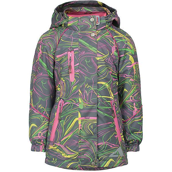 OLDOS Куртка Иона OLDOS ACTIVE для девочки куртка для девочки oldos active одри цвет коралловый темно серый 2a8jk06 размер 140 10 лет