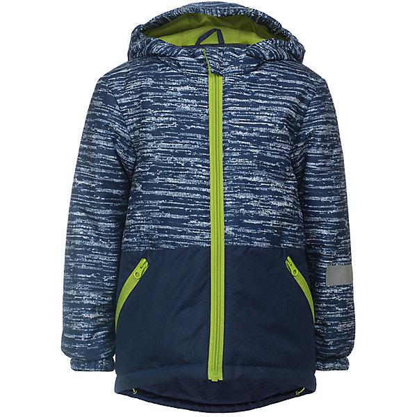 Куртка Чип JICCO BY OLDOS для мальчикаВерхняя одежда<br>Характеристики товара:<br><br>• цвет: синий;<br>• внешняя ткань: 100% полиэстер, покрытие TEFLON; <br>• подкладка: флис, 100% полиэстер;<br>• утеплитель: синтепон 100 г/м2;<br>• сезон: демисезон;<br>• температурный режим: от -5 до +10;<br>• застежка: на молнии;<br>• съемный капюшон, внутренняя резинка по краям для лучшего прилегания<br>• внутренняя ветрозащитная планка с защитой подбородка от прищемления;<br>• резинка сзади по талии <br>• манжеты прымые;<br>• 2 боковых кармана;<br>• нашивка-потеряшка;<br>• светоотражающие элементы;<br>• страна бренда: Россия.<br><br>Легкая и удобная весенняя куртка от JICCO by OLDOS  «Чип» для мальчика - отличный вариант для активных прогулок в прохладное время года.  Выполнена в практичном синем цвете с яркой контрастной молнией и подкладкой, хорошо сидит по фигуре и сочетается с различной одеждой и обувью.<br><br>Внешняя ткань с водо-грязеотталкивающей пропиткой защищает от ветра и дождя. Утеплитель в куртке синтепон 100 г/м2. Куртка имеет все самое необходимое для комфортной носки: капюшон с внутренней резинкой по краям для лучшего прилегания, внутреннюю ветрозащитную планку по всей длине молнии с защитой подбородка от прищемления, манжеты на резинке, карманы на молнии, регулируемую утяжку по низу куртки. Снабжена светоотражающими элементами. <br><br>Утепленную куртку для мальчика «Чип» от бренда JICCO BY OLDOS (Жикко бай Олдос) можно купить в нашем интернет-магазине.<br>Ширина мм: 356; Глубина мм: 10; Высота мм: 245; Вес г: 519; Цвет: синий; Возраст от месяцев: 24; Возраст до месяцев: 36; Пол: Мужской; Возраст: Детский; Размер: 98,104,92,128,122,116,110; SKU: 7913565;