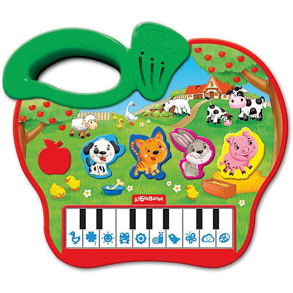 Купить Пианино Азбукварик Яблочко , Китай, зеленый, Унисекс