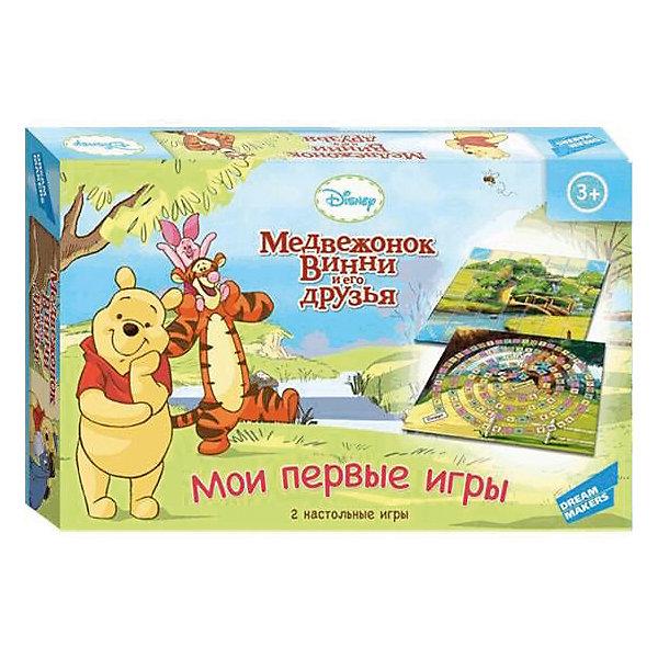 Disney Детская настольная игра Disney Медвежонок Винни. Мои первые игры мягкие игрушки disney винни 25 см