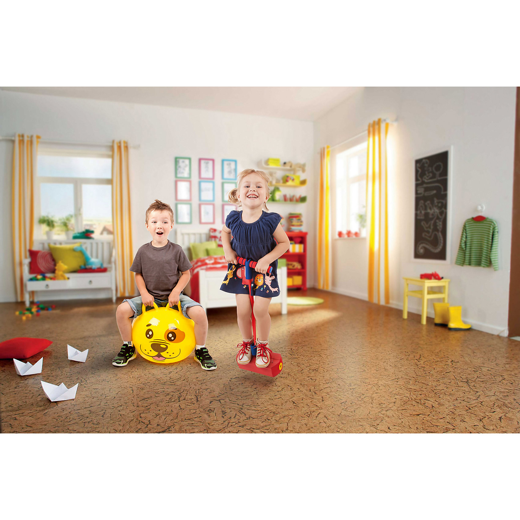 Тренажер для прыжков Moby-Jumper со звуком, оранжевый Тренажер для прыжков Moby-Jumper со звуком, по цене 799