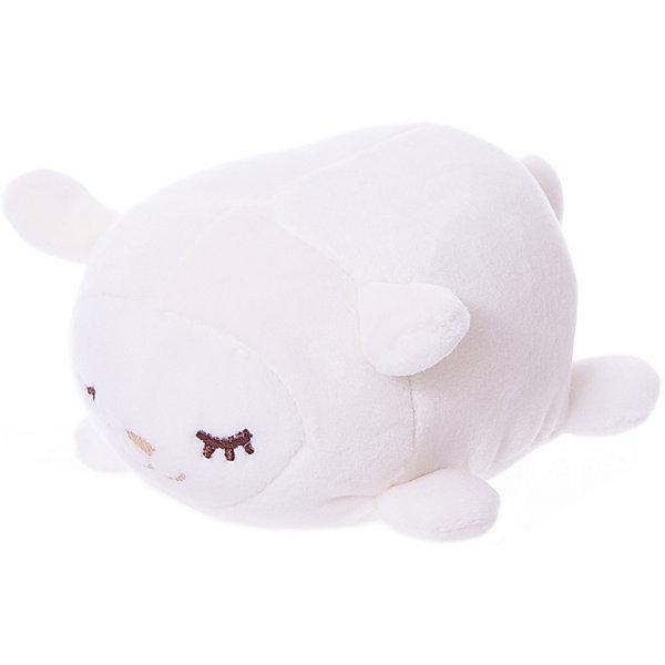 Купить Мягкая игрушка ABtoys Овечка белая, 13 см, Китай, белый, Унисекс