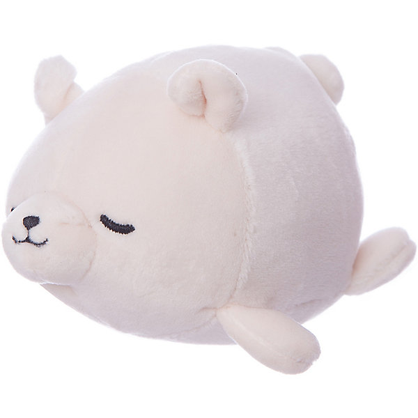 ABtoys Мягкая игрушка ABtoys Полярный медвежонок, 13 см пластмассовая игрушка для ванны alex полярный медвежонок 11 см 841b