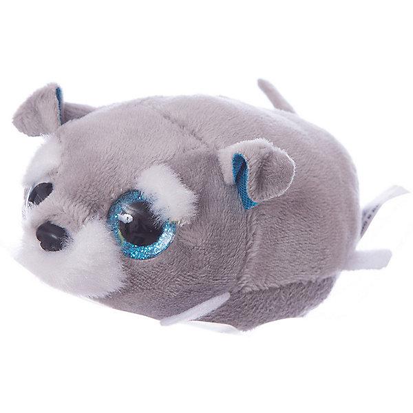 TEDDY Мягкая игрушка Teddy Собачка серая, 10 см