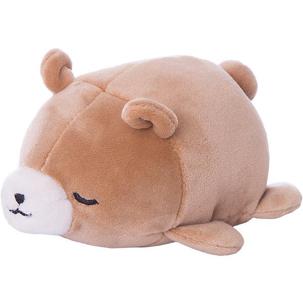 Купить Мягкая игрушка ABtoys Медвежонок, 13 см, Мягкая игрушка ABtoys Медвежонок коричневый, Китай, Унисекс