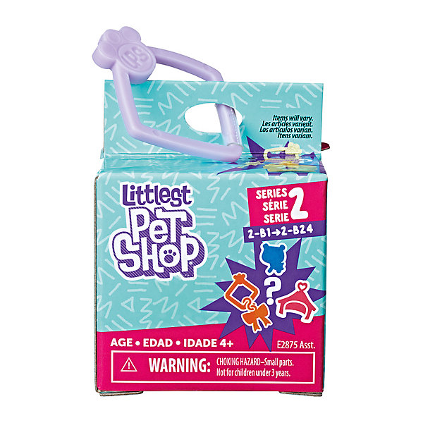 Hasbro Фигурка Littlest Pet Shop в стильной коробочке littlest pet shop фигурка bijou byson