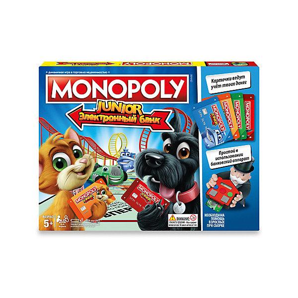 Hasbro Настольная игра Gaming Моя первая Монополия с банковскими картами